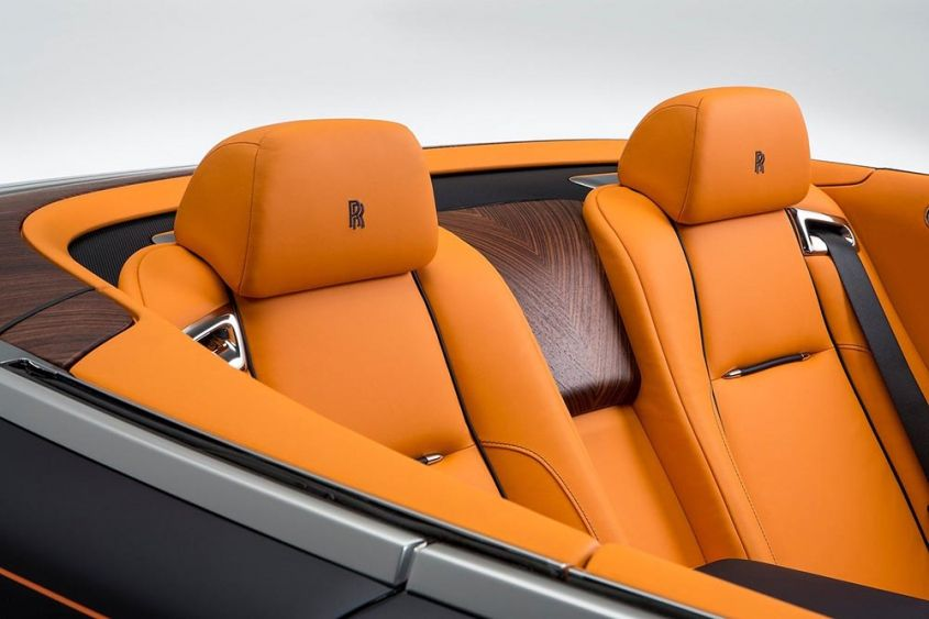 Rolls-Royce Dawn интерьер