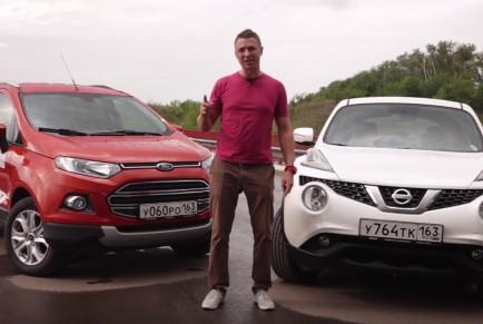 2015 Ford Ecosport vs Nissan Juke // Игорь Бурцев