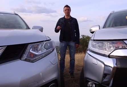 2015 Mitsubishi Outlander против Nissan X-Trail // Игорь Бурцев