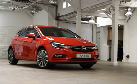 2016 Opel Astra обзор