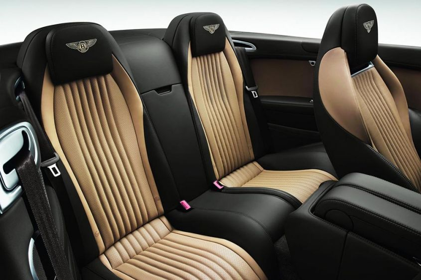 Bentley Continental GTC интерьер
