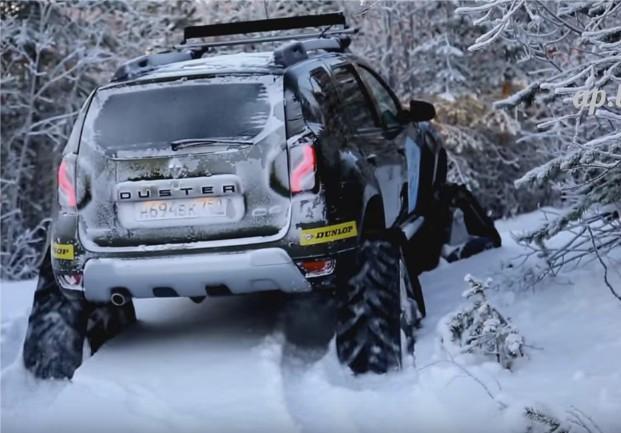 2016 Renault Duster Arctic Challenge // Автопанорама
