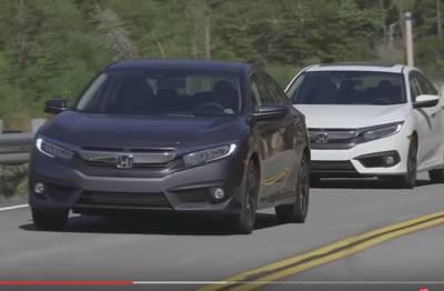 2016 Honda Civic sedan — обзор