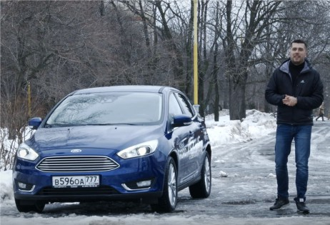 2016 Ford Focus // Anton Avtoman