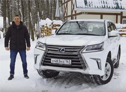 2016 Lexus LX // Игорь Бурцев