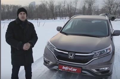 2016 Honda CR-V // InfoCar