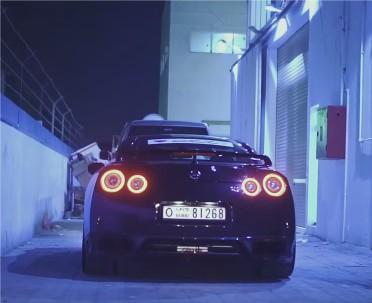 2016 700 HP Nissan GT-R in Dubai // DragtimesInfo
