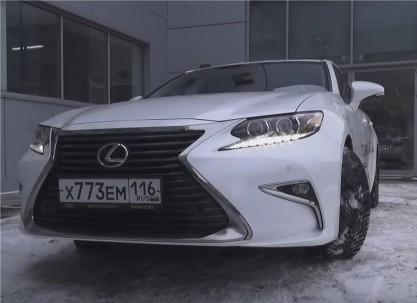 Видео тест-драйвы новой Lexus ES (Лексус ES) 2016 ...