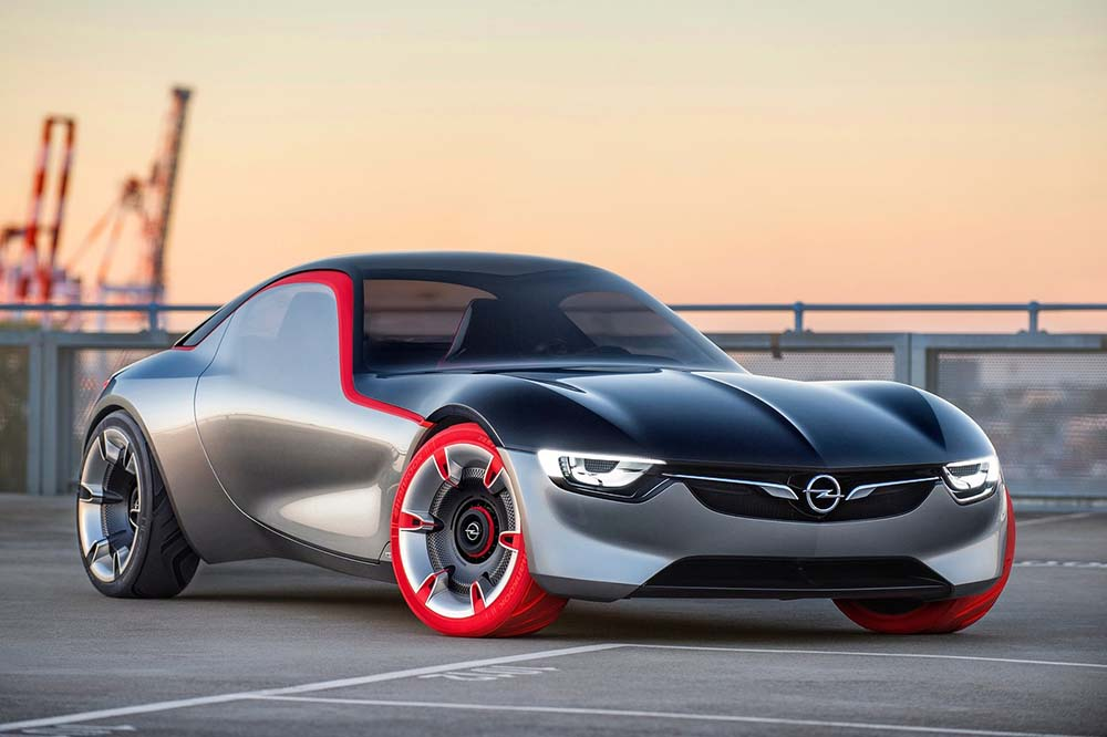 Opel gt concept price