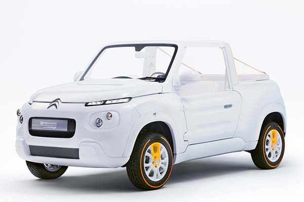 Citroen E-MEHARI Courreges Concept