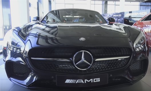 2016 Mercedes-AMG GT // MegaRetr