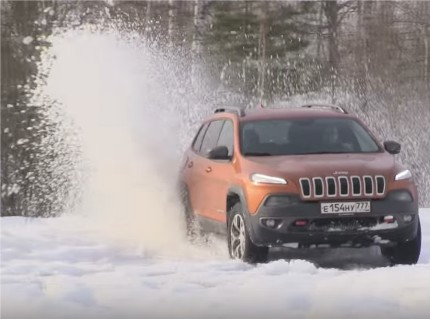 Jeep Cherokee Trailhawk // ATDrive