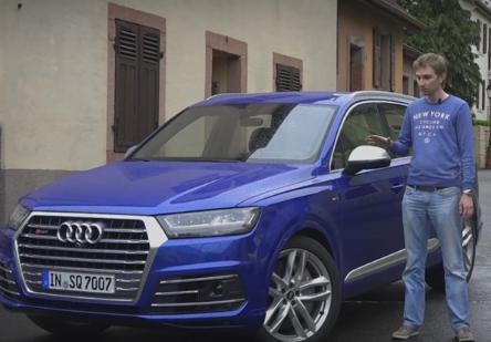 2016 Audi SQ7 // За рулем