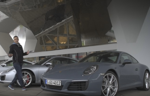 2016 Porsche 911 тест пяти версий серии 991 II // DRIVE