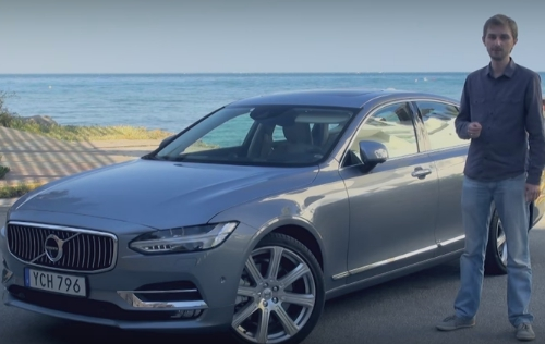 2016 Volvo S90 // За рулем