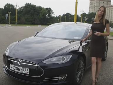 2016 Tesla Model S // Лиса Рулит