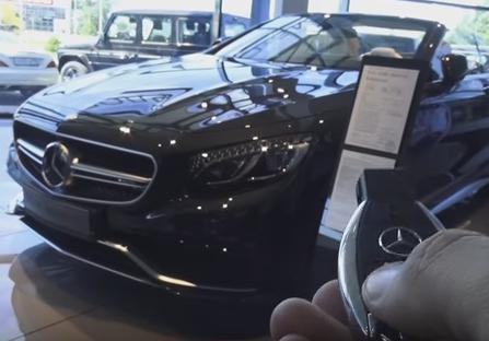 2016 Mercedes-Benz S63 AMG Кабриолет // MegaRetr