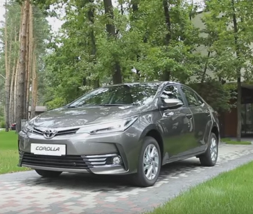 2016 Toyota Corolla // InfoCar