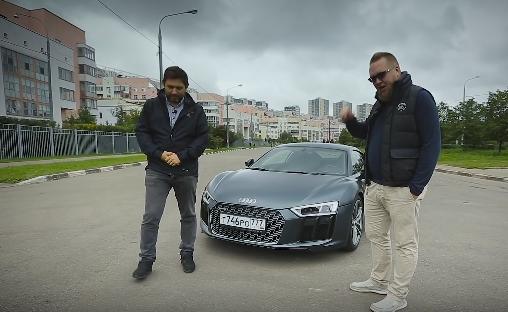 2016 Audi R8 V10 610 л.с // Большой тест-драйв