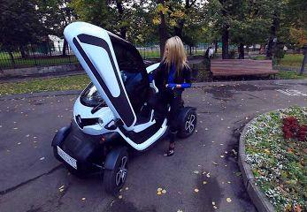 2012 Renault Twizy // Анастасия Трегубова