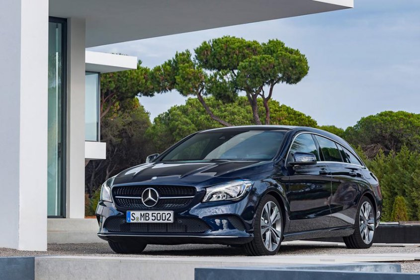 Mercedes-Benz CLA-Class Shooting Brake 2017 спереди