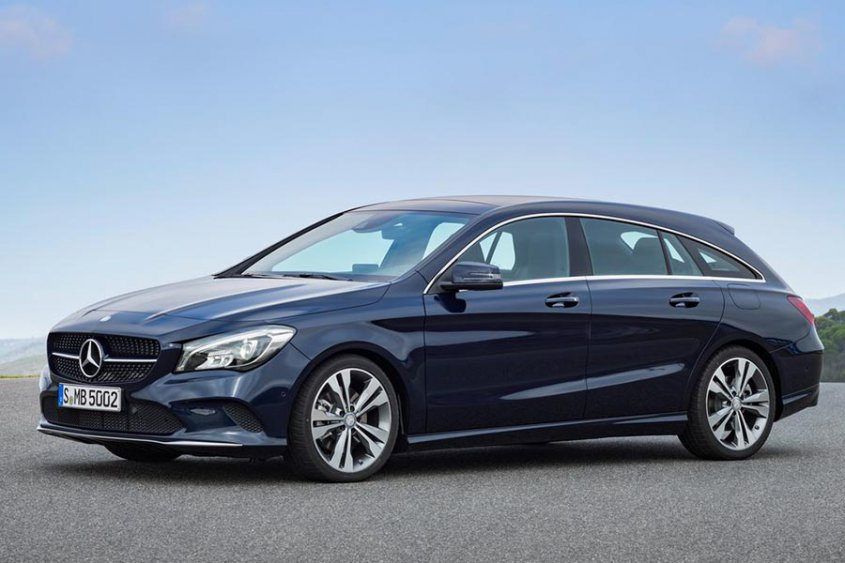 Mercedes-Benz CLA-Class Shooting Brake 2017