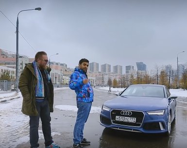 2017 Audi RS7 performance 605 л.с. // Большой тест-драйв