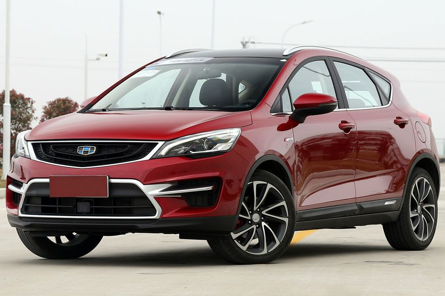 Geely Emgrand GS 2017