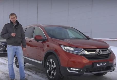 2017 Honda CR-V // За рулем