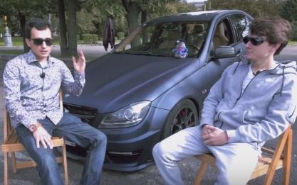 Самый быстрый Mercedes-Benz C 63 AMG 800 л.с. // Alan Enileev