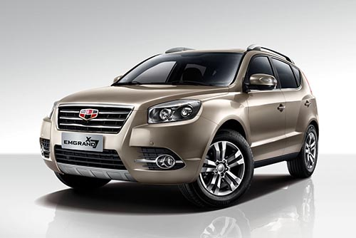 Geely Emgrand X7 2016 *