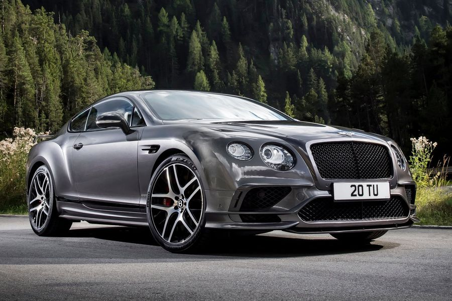 Bentley Continental Supersports Coupe 2018