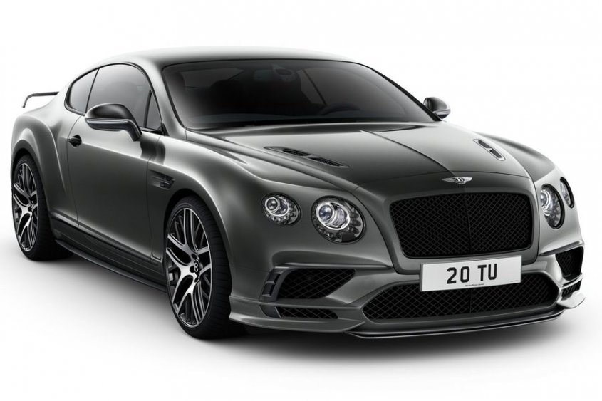 Bentley Continental Supersports Coupe 2018 экстерьер