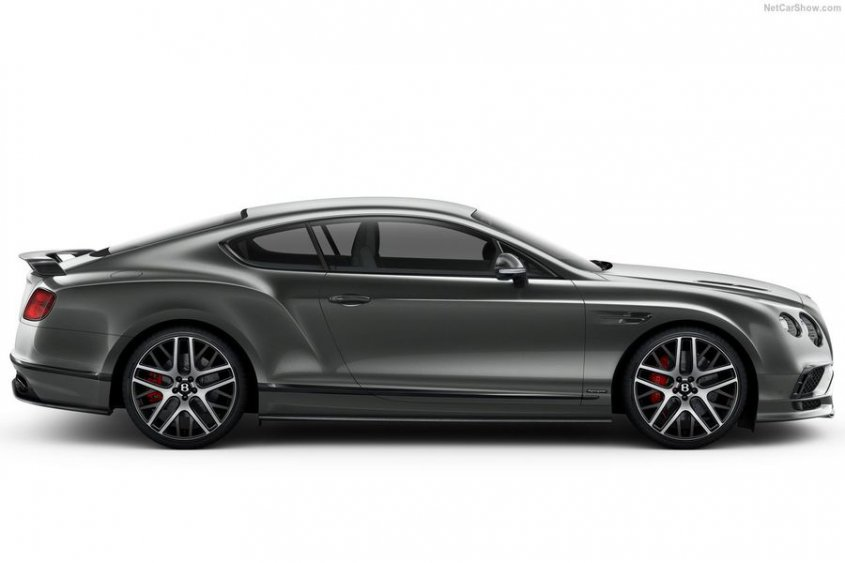 Bentley Continental Supersports Coupe 2018 внешность фото