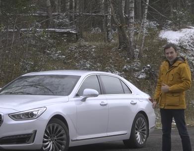 2017 Genesis G90 & Genesis G90L & BMW 740Ld // Авторевю