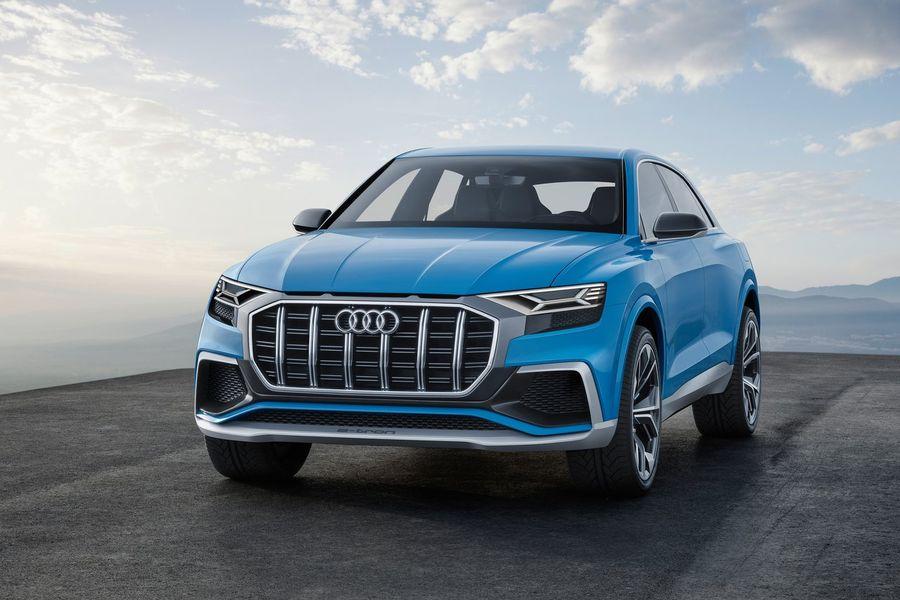 Audi Q8 2018 2019 обзор тест драйвы двигатели цены