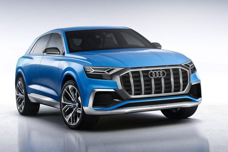 Audi Q8 E-tron 2018