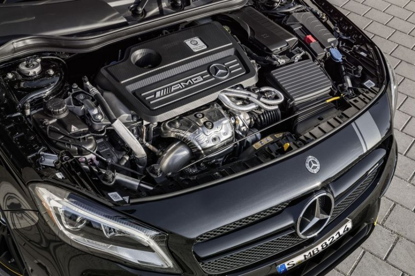 Mercedes AMG GLA 45 4matic мотор