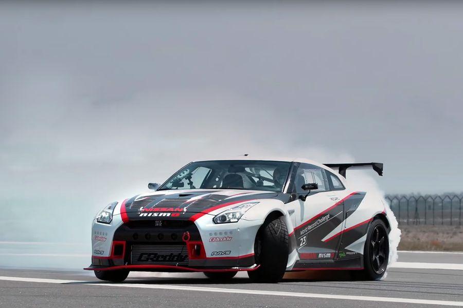 Nissan GT-R — Самый быстрый дрифт