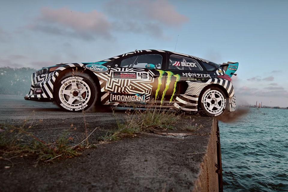 Дрифт Кена Блока на Ford Focus RS