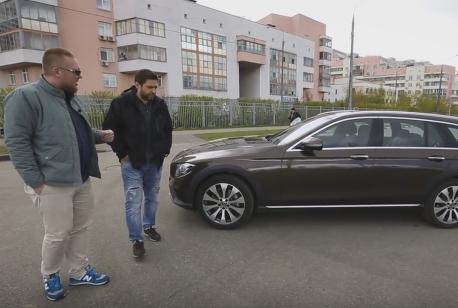 2017 New Mercedes E-Class All-Terrain // Большой тест-драйв