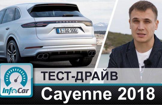 2018 Porsche Cayenne // InfoCar