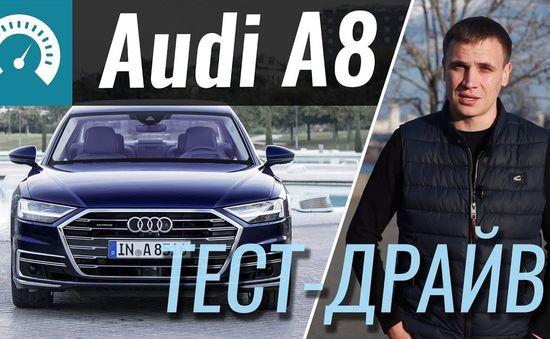 2018 Audi A8 // InfoCar
