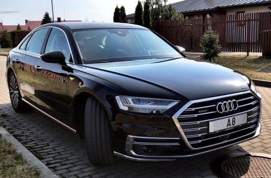 Audi A8 2018 // Stenni Тест драйв
