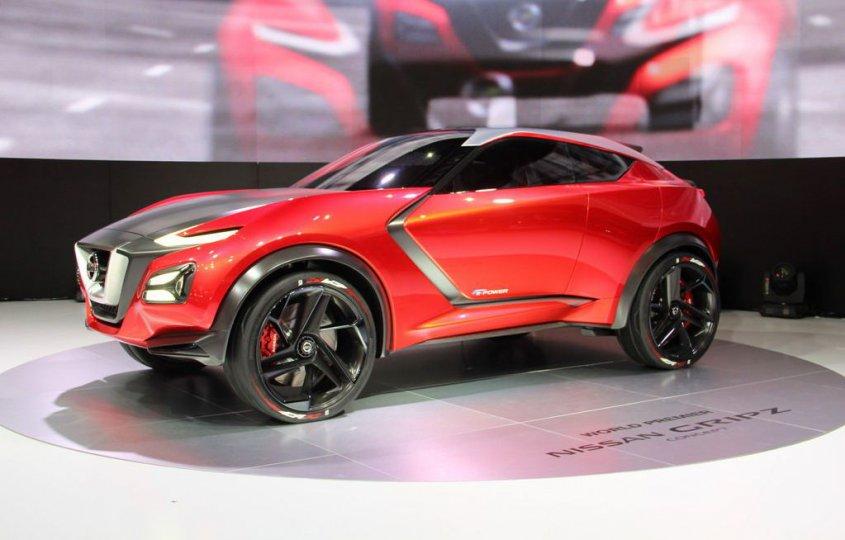 концепт Nissan Gripz 2015