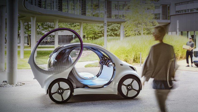 концепт Smart vision EQ fortwo
