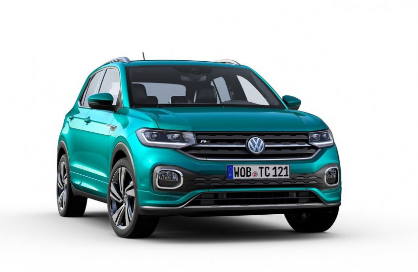 Volkswagen T-Cross 2019 спереди