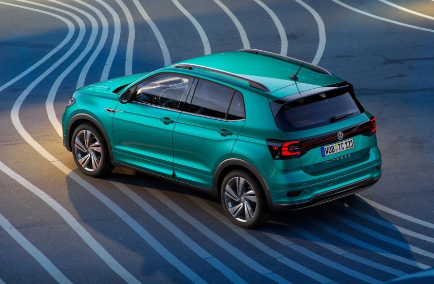 Volkswagen T-Cross 2019 сверху