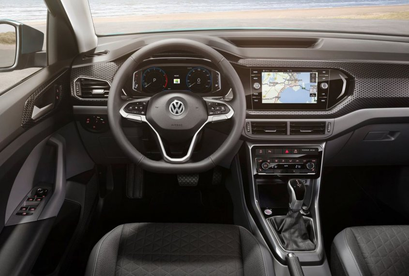 Volkswagen T-Cross 2019 интерьер