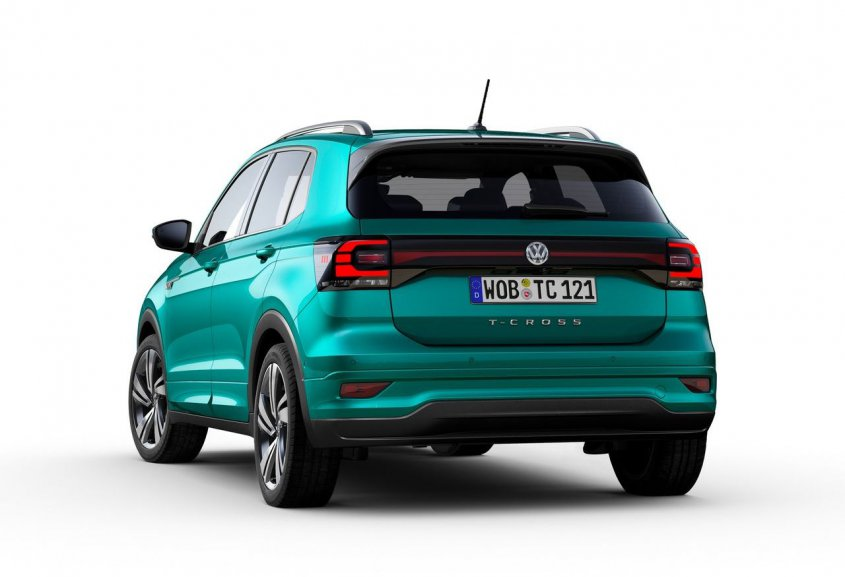 Volkswagen T-Cross 2019 сзади